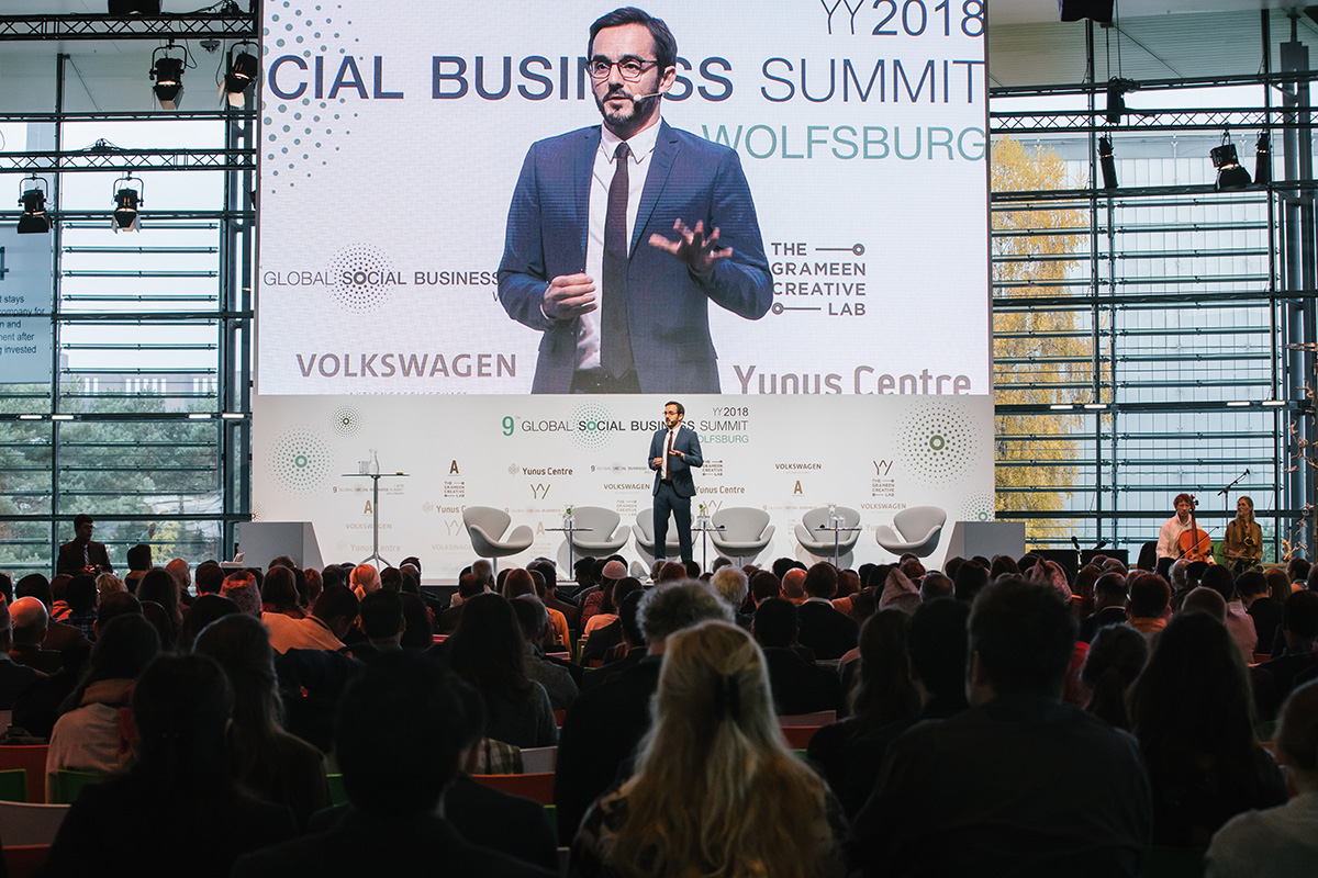 Global Social Business Summit 2018 in der Autostadt Fotos: Anja Weber