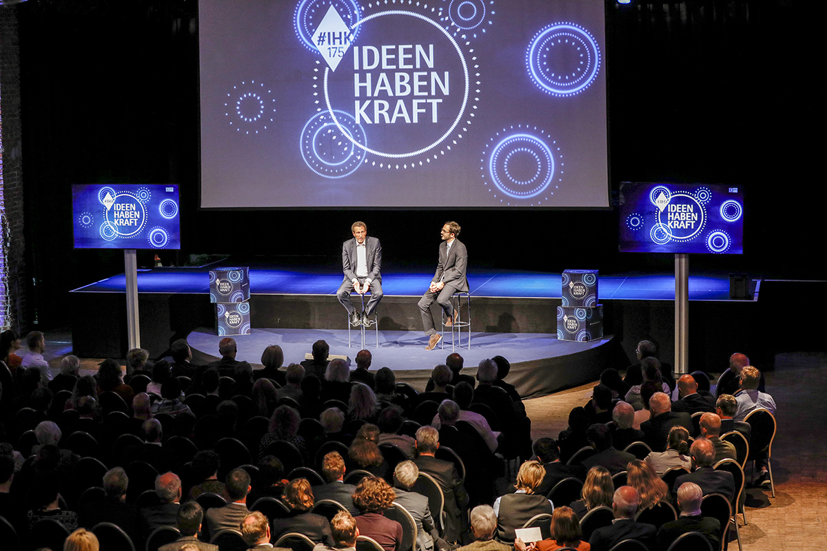 MUNICH, GERMANY - MAY 02:  at the Kick-Off-Event of the talk series 'IDEEN HABEN KRAFT' on the occasion of the 175th anniversary of the IHK for Munich and Upper Bavaria on May 2, 2018 in Munich, Germany. (Photo by Isa Foltin/Getty Images for IHK Muc)